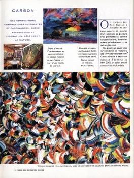 Magazine d coration chez soi artiste peintre for Magazine decoration chez soi