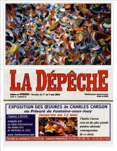 La dépêche 7 mai 2003