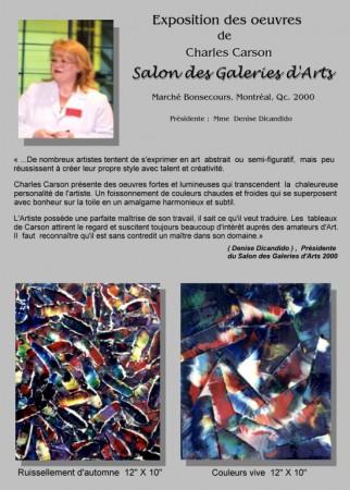 Salon des galeries d'art 2000 page 2