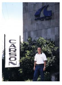 Charles Carson à la Galerie Arte Autopista, Medellin, Colombie