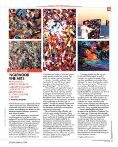 Life Style Magazine - Calgary - Art Gallery Inglewood - Charles Carson