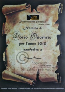 Carson - Premio Honorario 2010 copyright