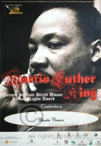 Premio – MARTIN LUTHER KING 2009