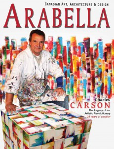 Magazine ARABELLA, Canadian Art, Winter 2012-2013
