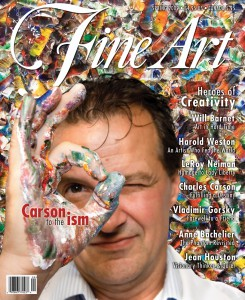 1- Carson -COVER - Fine Art magazine - USA spring 2009