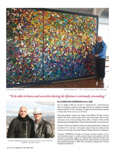 Page 26 - Fine Art Magazine - New-York 2012 - Charles Carson