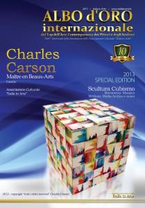 1- ITALIE - Hommage à Charles Carson, 21 pages de reportageMaître en Beaux-Arts -  Albo de Oro Internationale - En couverture Maître Charles Carson