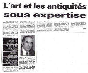 Christian Sorriano - L'art et antiquité sous expertise - ok