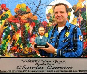 Prix Vincent Van Gogh - Charles Carson 10 décembre 2011