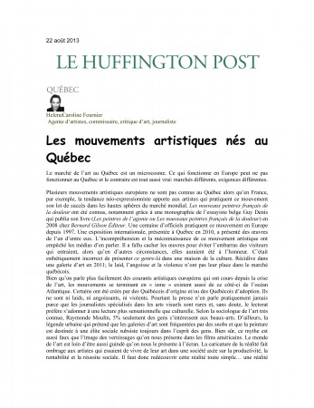 Le Huffington Post-22 août 2013-1
