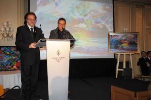 Charles Carson invité d'honneur au Gala des sommeliers de Paris