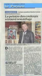 Le Parisien - 21-10-2013