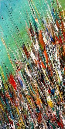 Ciel d'émeraude aux couleurs flamboyantes