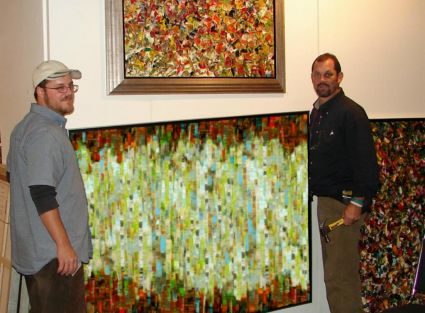 Abstrait art expo New-York 2007