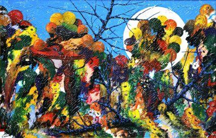 Éclipse de fruits au jardin de mon enfance